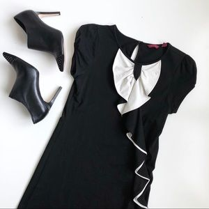 Ted Baker Black & White Bow Dress